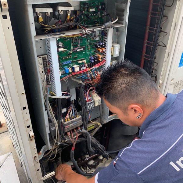 Repair of VRF systems