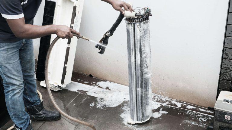 Aircon Chemical Wash Process