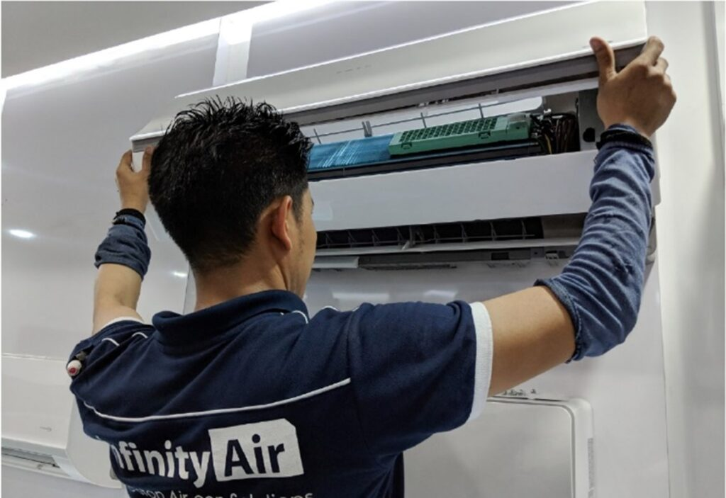 Infinity Air Aircon Service Repair Installation