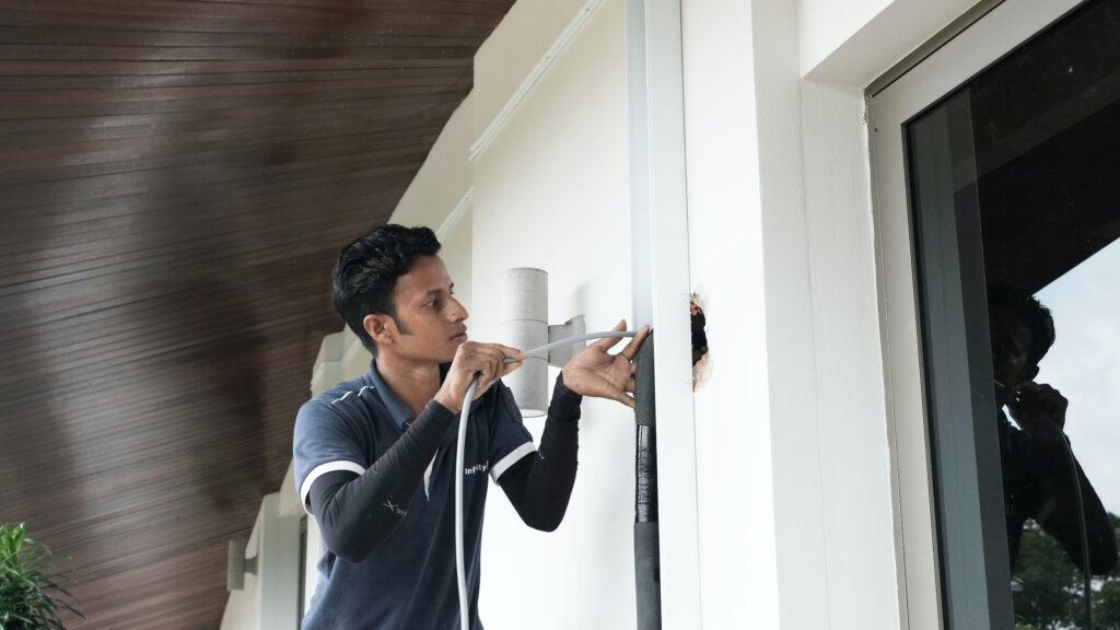 Air-Conditioner Wiring Works